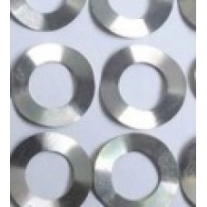 316 Stainless Steel Wave Spring (Belleville Washers) for CR2032, Diameter: 15.8 mm, Thickness: 0.5 mm